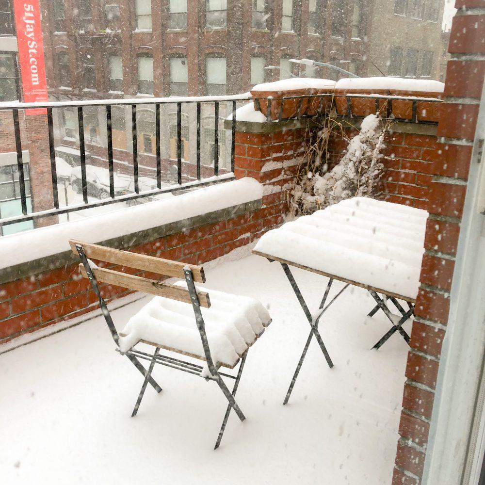 Blizzard um 12.00 Uhr
